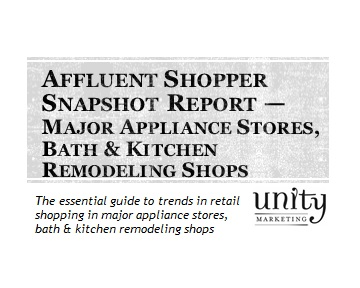 Affluent Shopper Snapshot Major Appliance Stores